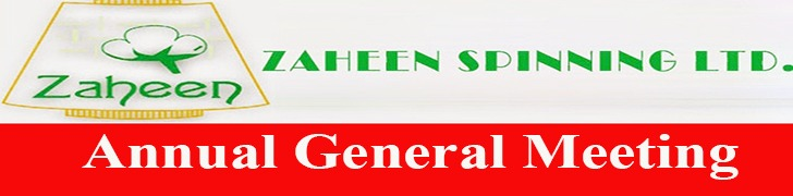 AGM Zaheen Spinning Limited