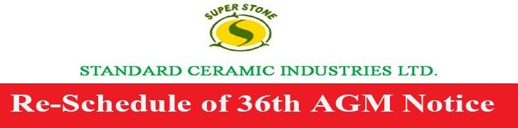 AGM Standard Ceramic Industries Ltd