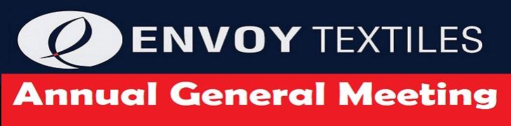 envoy textile Annual General Meeting